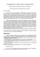 Compte Rendu Conseil Municipal du 03-12-2020