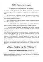Voeux 2021