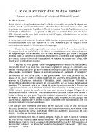 Compte Rendu Conseil Municipal du 04-01-21
